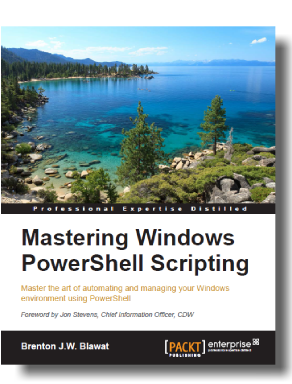 Free Chapter of Mastering Windows PowerShell Scripting!